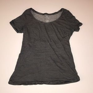 American Eagle Outfitters black & white T
